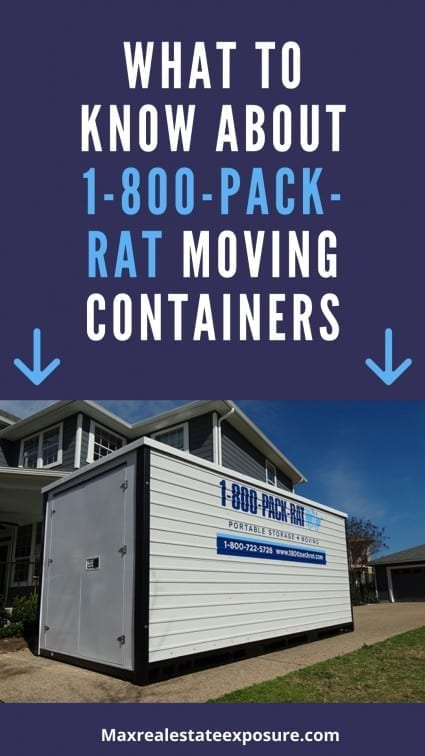 1-800-Pack Rate Moving Containers