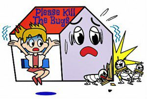 Bug Dmage in Home