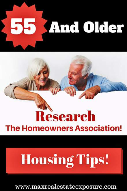55 and Older Housing Tips