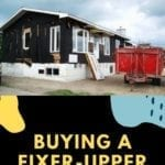 Buying a Fixer-Upper House