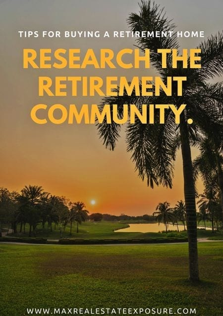 Buying in a Retirement Community