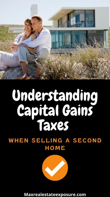 Capital Gains Tax With Sale of Second House
