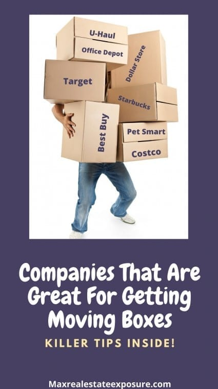 Companies to Get Moving Boxes