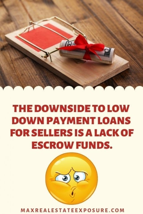 Downsides to Sellers of Low Down Payment Loans