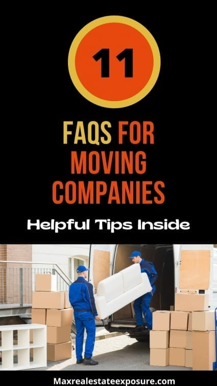 FAQS For Moving Companies