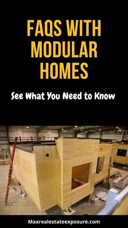 FAQs With Modular Homes