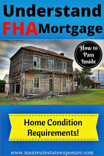 FHA Mortgage Home Condition Requirements