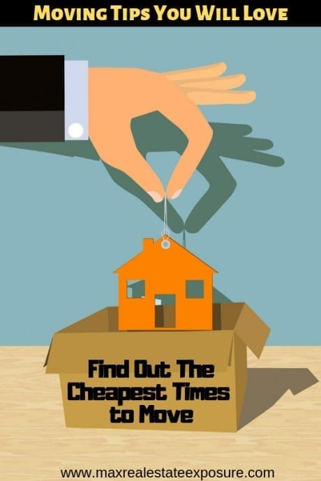 Find Out The Cheapest Times to Move