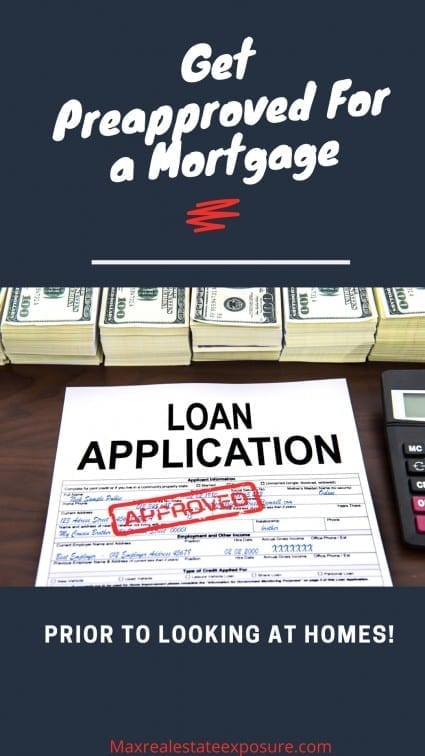Get Preapproved For a Mortgage Before Looking at Foreclosures