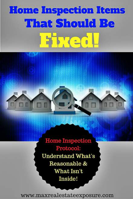 Home Inspection Problems That Should Be Fixed