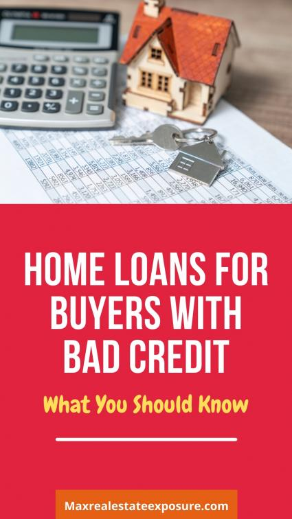Home Loans For Bad Credit