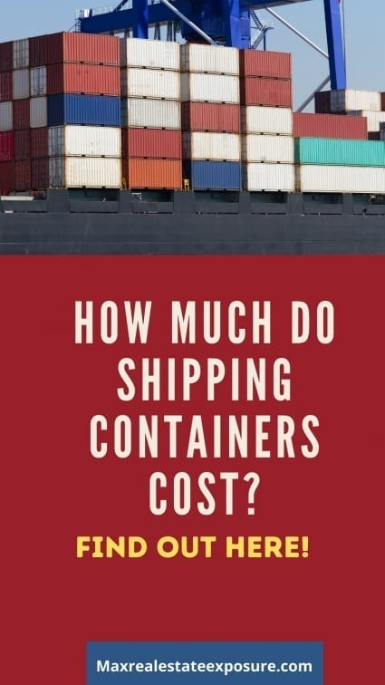 How Much Do Shipping Containers Cost