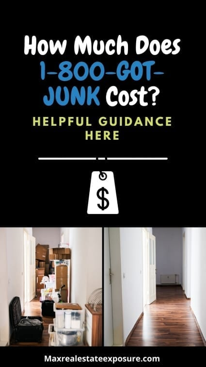 How Much Does 1-800-Got-Junk Cost