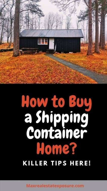 How to Buy a Shipping Container Home