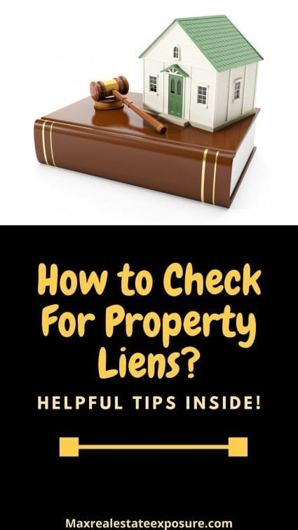 How to Check For Property Liens