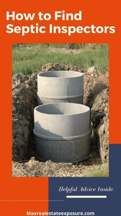 How to Find Septic Inspectors