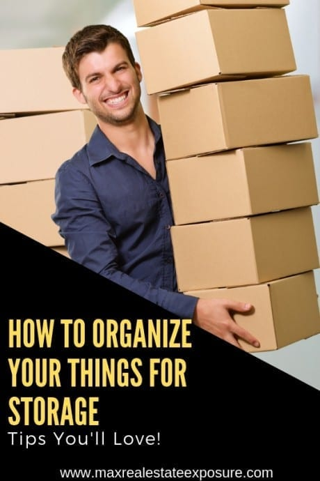 How to Organize Your Things For Storage