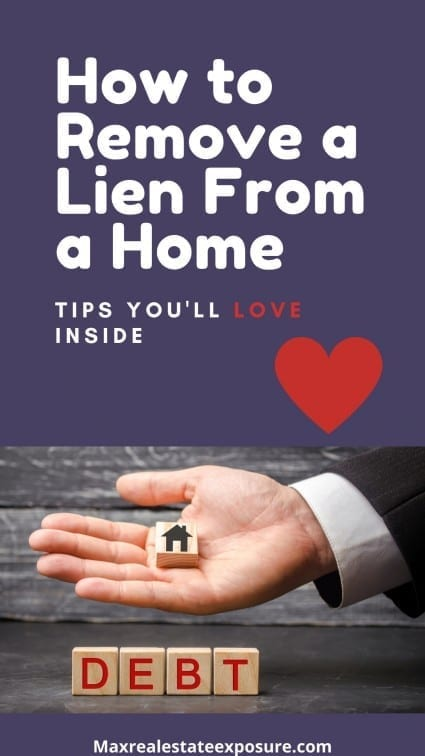 How to Remove a Lien From a Home