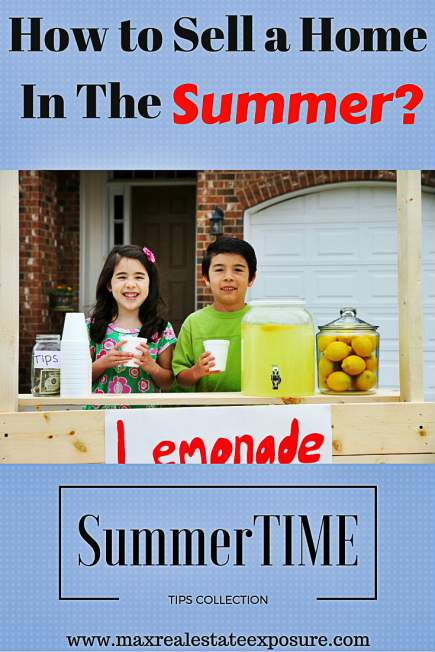 How to Sell a Home in The Summer