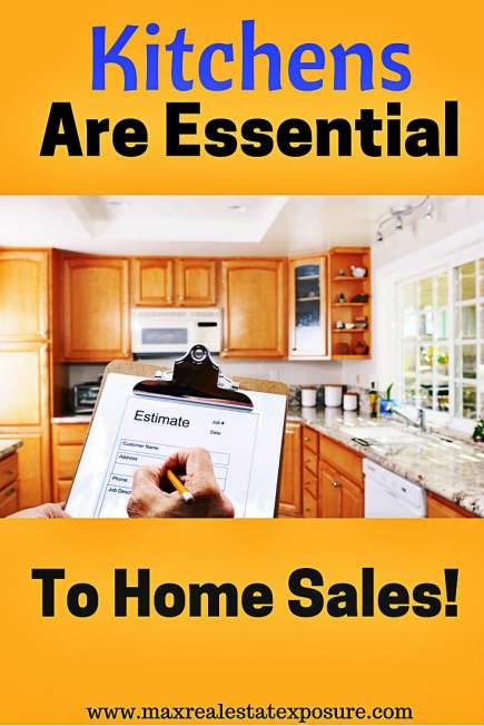 Kitchens Are Essential to Home Sales