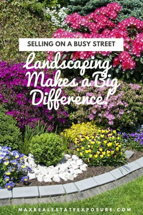 Landscaping on Busy Road