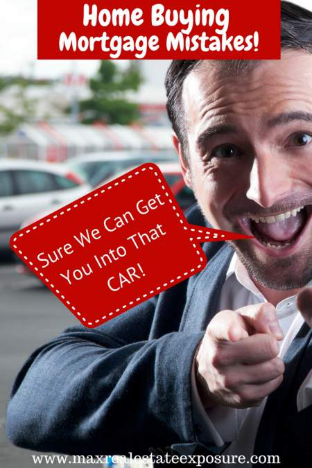 Mortgage Mistakes - Buying a Car
