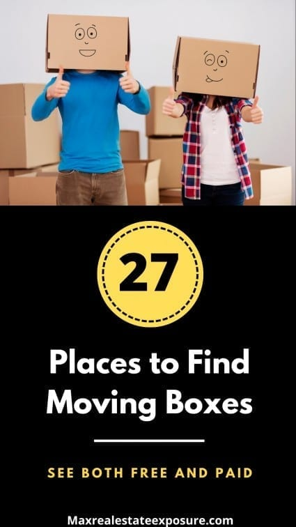 Places to Find Moving Boxes
