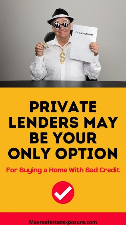Private Lenders For Buyers With Low Credit Scores