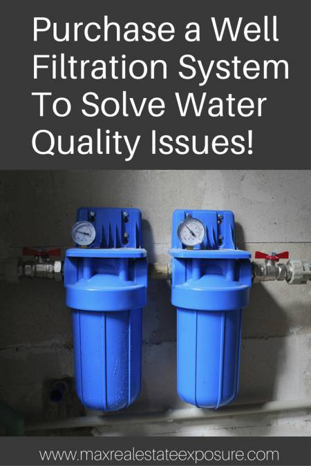 Purchase a Well Filtration System
