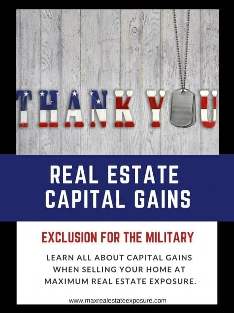 Real Estate Capital Gains Exclusion For The Military