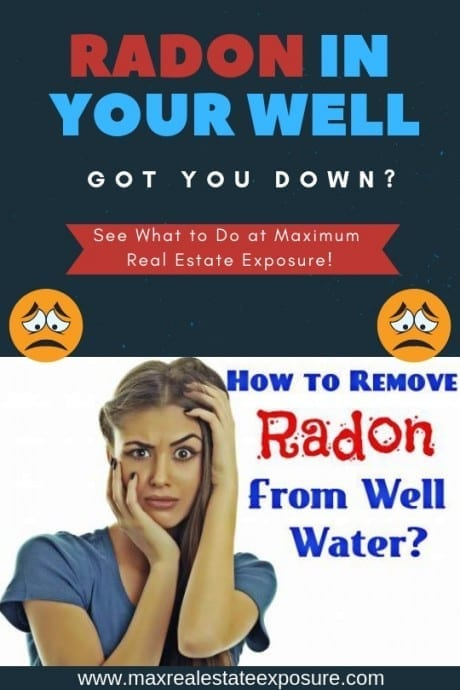 Remove Radon in Water