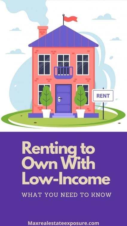 Renting to Own With Low Income