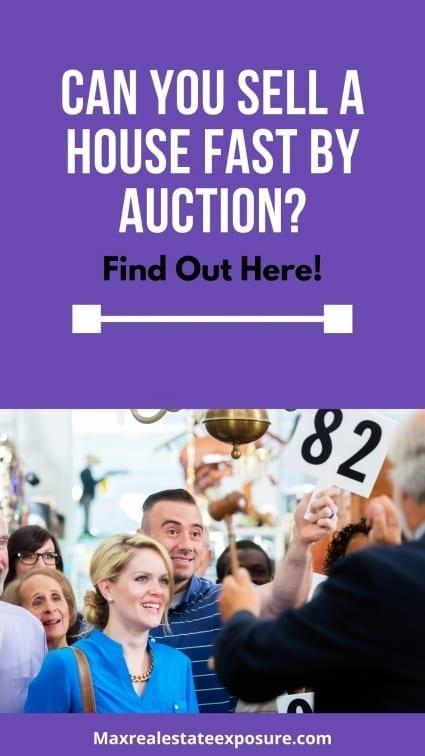 Sell a House Fast By Auction