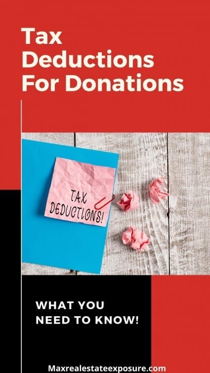 Tax Deductions For Donations