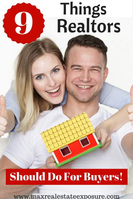 Things Realtors Should Do For Home Buyers