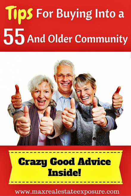 Tips For Buying in 55 and Older Community