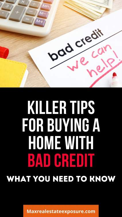 Tips For Buying a House With Bad Credit