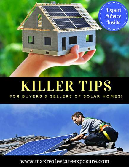 Tips For Buying and Selling a Solar Home