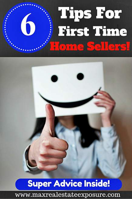 Tips For First Time Home Sellers
