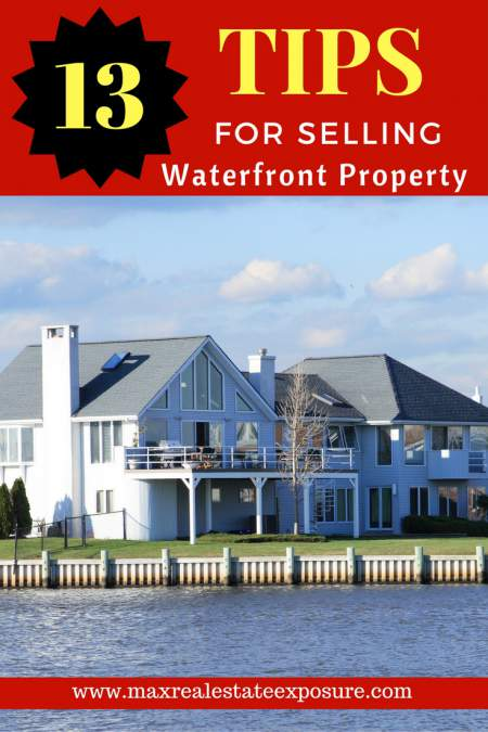 Tips For Selling Waterfront Property