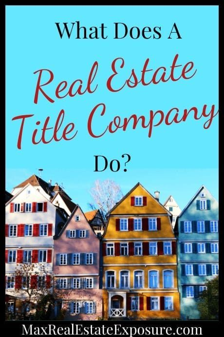 What Does a Title Company Do