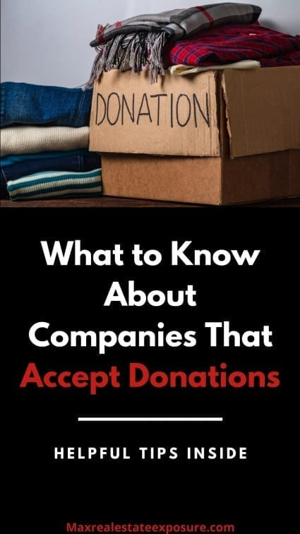 What to Know About Companies That Accept Donations