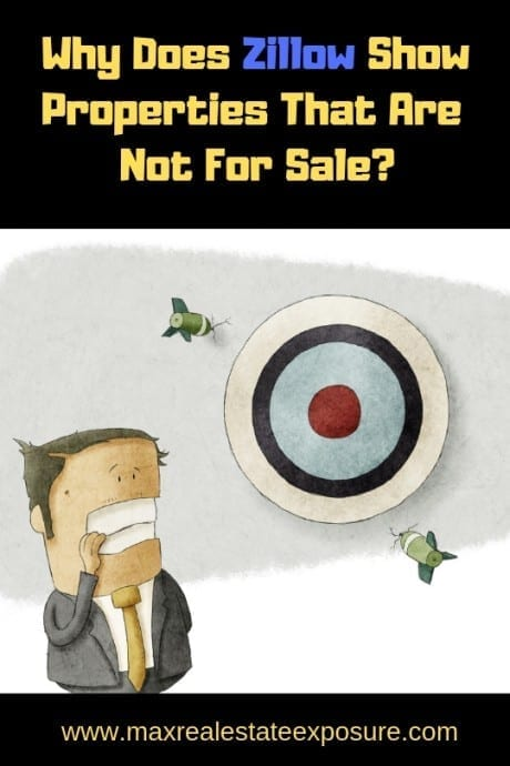 Zillow Shows Properties Not For Sale