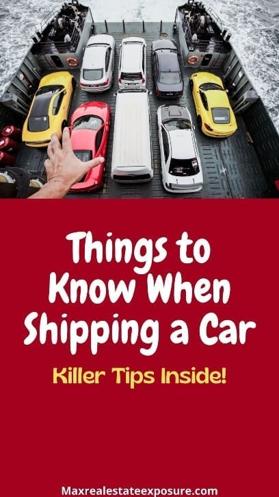 Things to Know About Shipping a Car