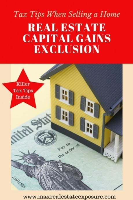 Real Estate capital gains exclusion